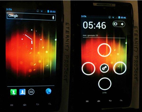 Razr é um dos aparelhos que têm o Android Ice Cream Sandwich (Foto: Reprodução)
