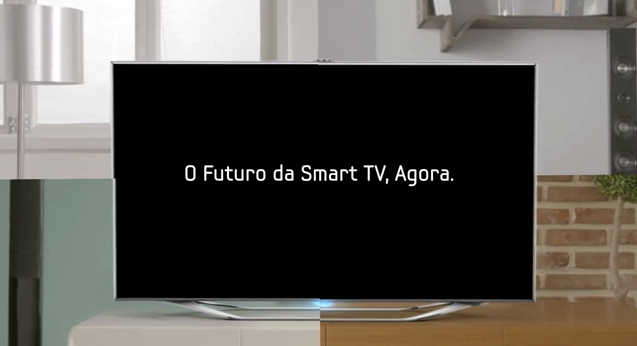 Smart TV com senhores de voz e movimento que ganha upgrade de software e hardware ao passar dos anos (Foto: Reprodução/Samsung)