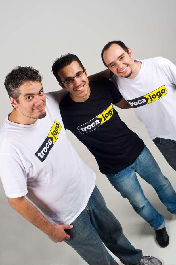 Da esq. para dir.: Flavio Banyai, Leonardo Oliani e Marco Felix (Foto: Divulgação)