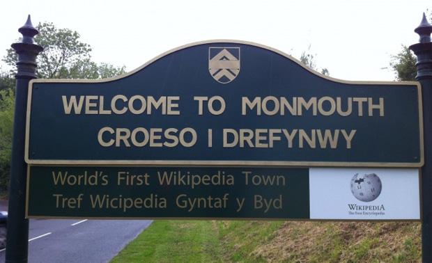 Monmouthpedia cria integração entre locais da cidade e a Wikipédia (Foto: Reprodução)