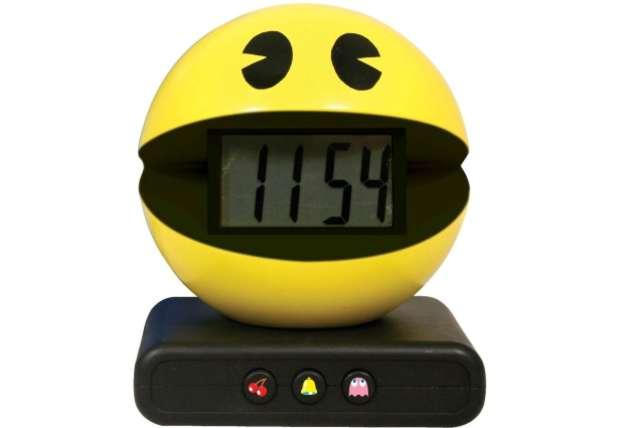 Relógio digital do Pac-Man (Foto: Mashble)