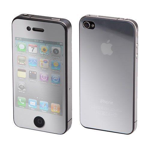 Película espelhada dificulta visualização da tela do iPhone (Foto: Reprodução) (Foto: Película espelhada dificulta visualização da tela do iPhone (Foto: Reprodução))