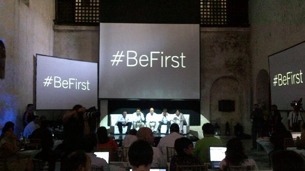 Evento BeFirst, promovido pela RIM em Cartagena, Colômbia (Foto: Stella Dauer)