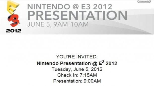 Nintendo na E3 2012 (Foto: Divulgação)