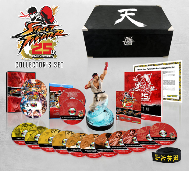 Street Fighter 25th Anniversary Collector's Set (Foto: Divulgação) (Foto: Street Fighter 25th Anniversary Collector's Set (Foto: Divulgação))