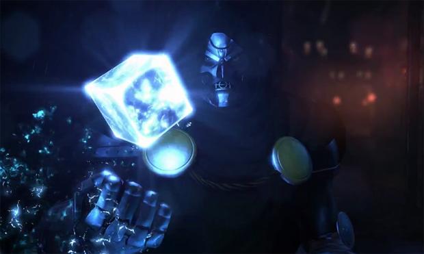 Doutor Destino é o vilão de Marvel Heroes (Foto: Divulgação)