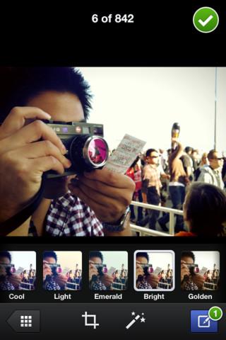 Facebook Camera permite edição de imagens, adição de filtros e compartilhamento rápido (Foto: Reprodução) (Foto: Facebook Camera permite edição de imagens, adição de filtros e compartilhamento rápido (Foto: Reprodução))