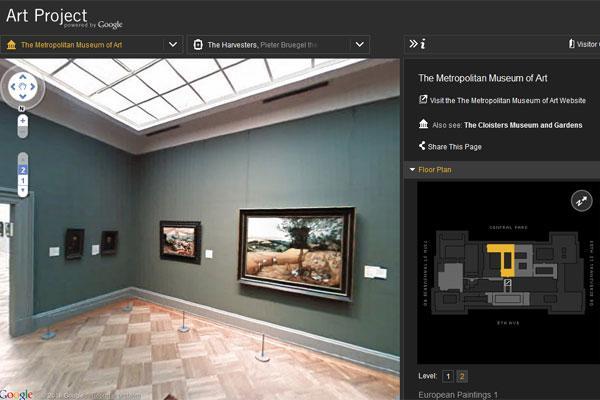 O Google Art Project é o serviço mais recente do Google Street View (Foto: Reprodução)