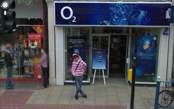 O Wally pode ser encontrado em quatro países por meio do Street View (Foto: Reprodução)