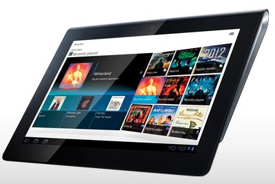 Tablet da Sony, lançado oficialmente hoje no Brasil (Foto: Reprodução)