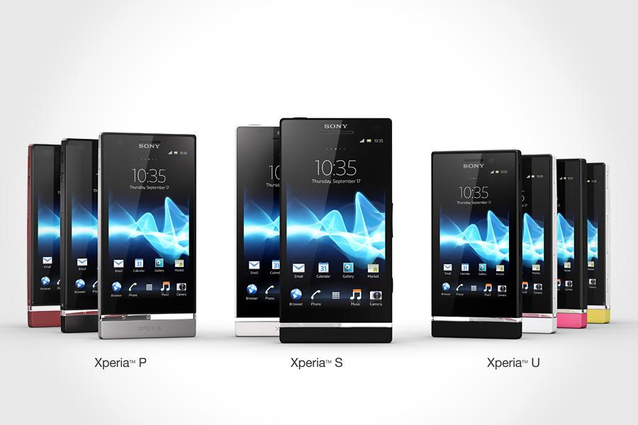 Nova série Sony Xperia XNT com 3 novos modelos lançados no Brasil (Foto: Reprodução)