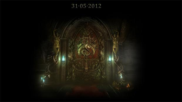 O misterioso site para os novos Castlevania (Foto: Divulgação) (Foto: O misterioso site para os novos Castlevania (Foto: Divulgação))