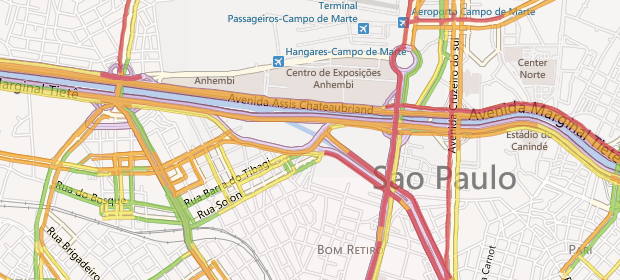 Bing Mapas (Foto: Reprodução)