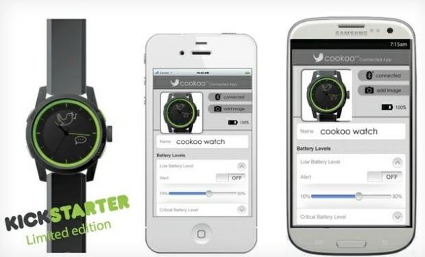 Cookoo é um projeto de smartwatch, do Kickstarte,r que conecta o usuário com seu smartphone (Foto: Reprodução) (Foto: Cookoo é um projeto de smartwatch, do Kickstarte,r que conecta o usuário com seu smartphone (Foto: Reprodução))