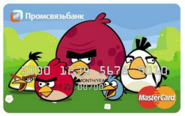 Angry Birds vai ganhar cartão de crédito na Rússia (Foto: Reprodução)