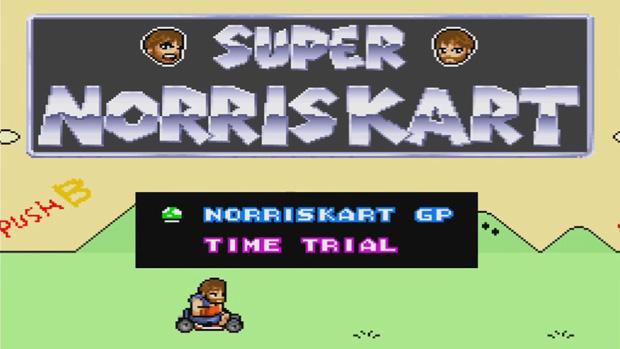 O que acontece quando Chuck Norris joga Super Mario Kart (Foto: Divulgação)