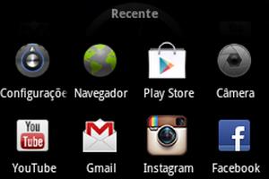 Menu Recente do Android (Foto: Reprodução)