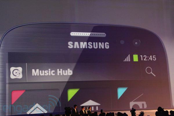 Music Hub foi apresentado pela Samsung nesta terça-feira (Foto: Reprodução) (Foto: Music Hub foi apresentado pela Samsung nesta terça-feira (Foto: Reprodução))