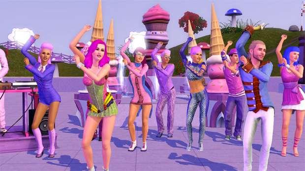 The Sims 3: Katy Perry (Foto: Divulgação) (Foto: The Sims 3: Katy Perry (Foto: Divulgação))