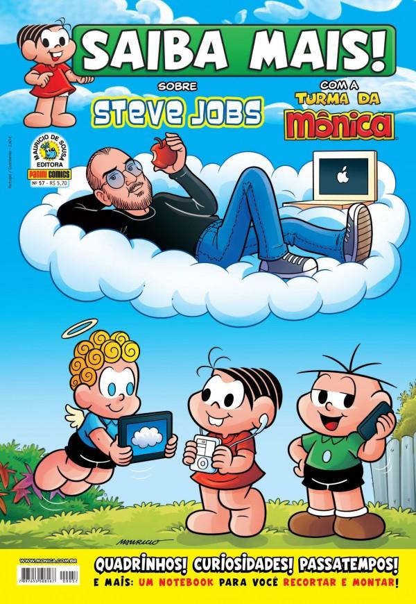 """A edição 57 da coleção """"Saiba Mais"""" conta a trajetória de Steve Jobs, fundador da Apple (Foto: Reprodução)"""