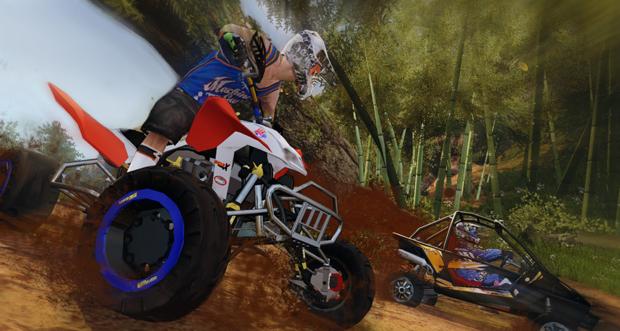 As corridas de Mad Riders (Foto: Divulgação)