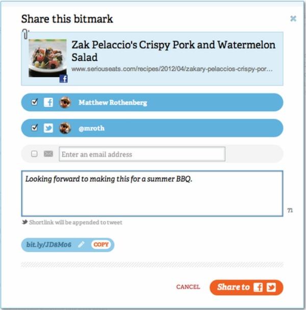 Usuários do encurtador Bitly também o poderão usar como rede social (Foto: Reprodução) (Foto: Usuários do encurtador Bitly também o poderão usar como rede social (Foto: Reprodução))