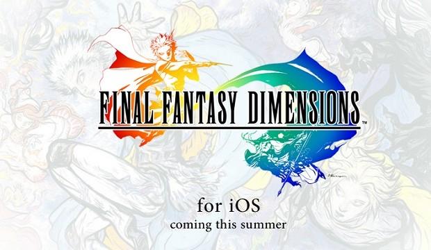 Final Fantasy Dimensions é o novo game da série (Foto: Divulgação) (Foto: Final Fantasy Dimensions é o novo game da série (Foto: Divulgação))