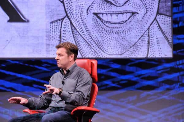 CEO do Skype no evento de tecnologia D10 (Foto: Reprodução/Engadget)