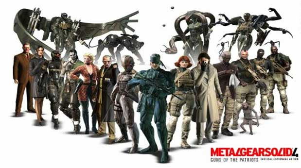 Metal Gear Solid 4: Guns of the Patriots (Foto: Divulgação)