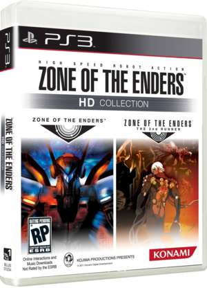 Zone of the Enders HD Collection (Foto: Divulgação)