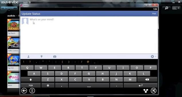 Blue Stacks passará a ser oferecido pela loja virtual da Asus (Foto: Reprodução)