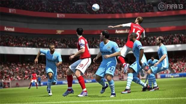 O Fifa 13 terá integração com Kinect  (Foto: Reprodução)