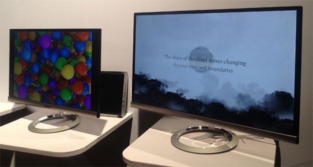 Monitores Asus Designo MX279H e MX239H (Foto: Nick Ellis)