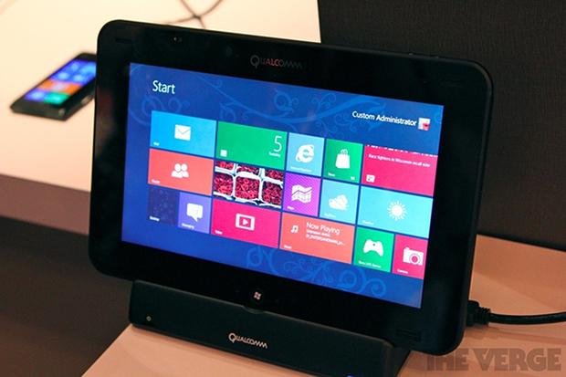 Tablet com Windows 8 RT
