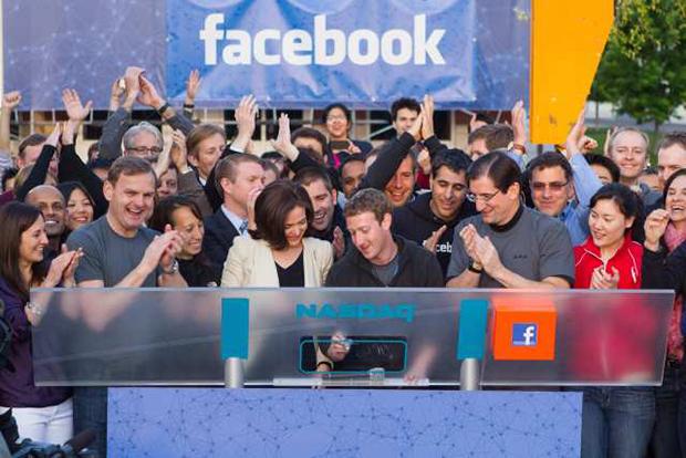 Mark Zuckerberg abre ações na bolsa de valores (Foto: Los Angeles Times)