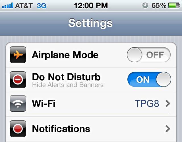 Foto do que pode ser a nova opção de 'Configuração' do iOS 6(Foto: Reprodução/ 9to5Mac)