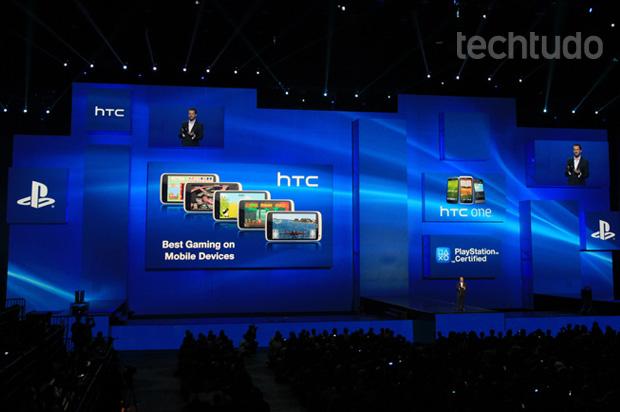 A ideia é estender o alcance da marca PlayStation a outros dispositivos Android (Foto: Léo Torres/TechTudo)
