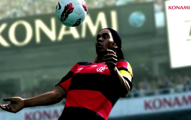 """... , Ronaldinho Gaúcho enfrenta Neymar em trailer de """"PES 2013"""