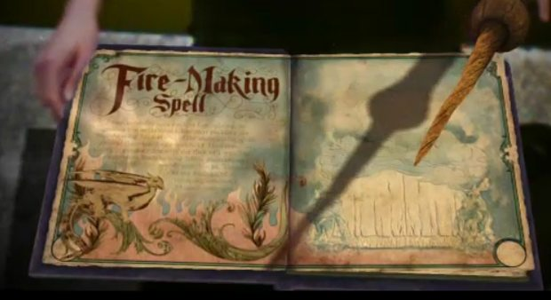 Book of Spells no Wonderbook (Foto: Reprodução) (Foto: Book of Spells no Wonderbook (Foto: Reprodução))