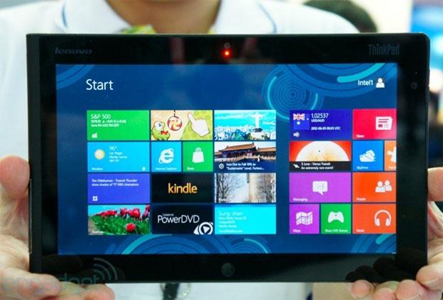 Dispositivo inclui a Lenovo entre os fabricantes de tablets para Windows 8 (Foto: Reprodução)