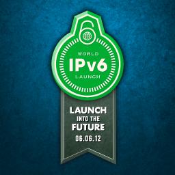Logo oficial de lançamento IPv6 (Foto: Reprodução)
