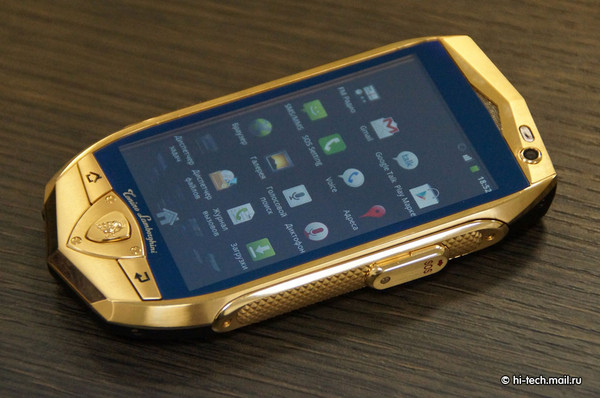 TL700, smartphone principal da empresa (Foto: Reprodução/ Hi-TechMail)
