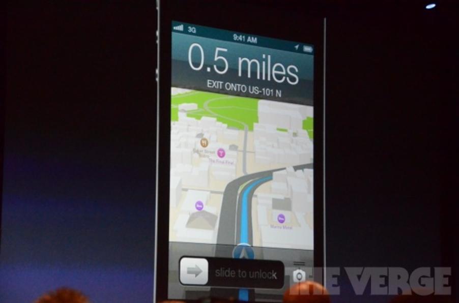 Novo sistema de mapas da Apple é anunciado na WWDC (Foto: Reprodução/The Verge)