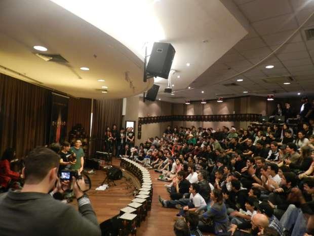 Lançamento de Diablo 3 em São Paulo (Foto: Alexandre Silva/TechTudo)
