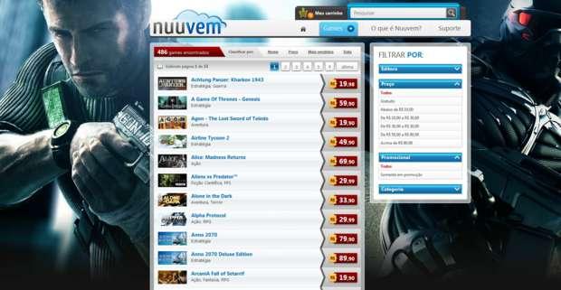 Nuuvem (Foto: Reprodução)