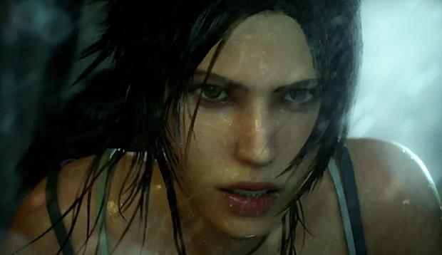 O novo Tomb Raider promete cenas fortes (Foto: Divulgação)
