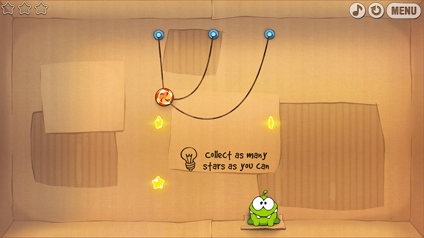 Cut the Rope (Foto: Reprodu��o/Helito Bijora)