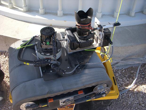 Detalhe do robô (Foto: Reprodução/Business Wire)