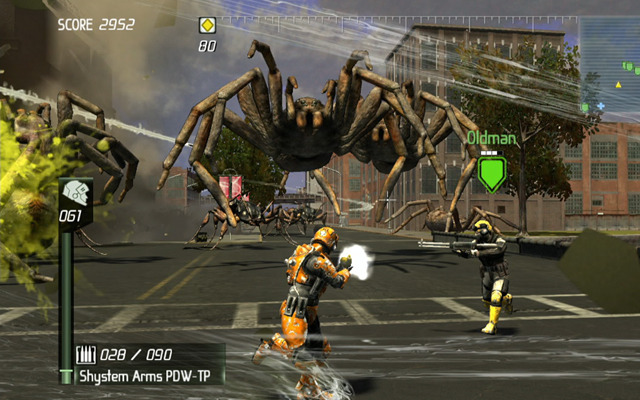 Earth Defense Force: Insect Armageddon (Foto: Divulgação)