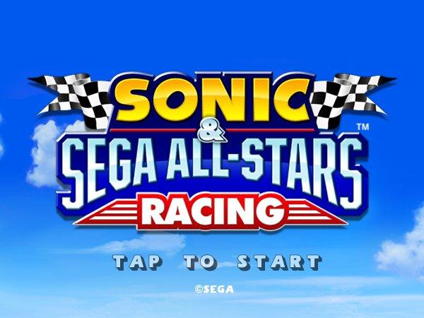 Sonic & SEGa All-Stars Racing, um dos melhores jogos para iPhone (Foto: Reprodução)